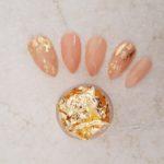 Gold nail art foil leaf